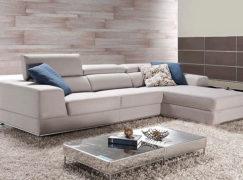 Cách chọn mua ghế sofa nỉ cho phòng khách hiện đại