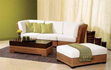 Đơn giản và thanh lịch cùng với ghế sofa mây nhựa