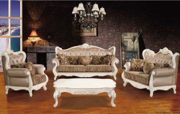 Ghế sofa cổ điển cho phòng khách thêm sang trọng