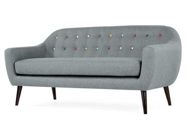 Ghế sofa đơn dài cho phòng khách nhỏ và hẹp
