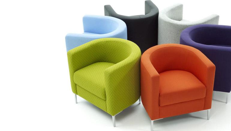 Ghế sofa đơn – lựa chọn khá hợp lý cho phòng khách hẹp