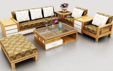 Lưu ý khi chọn mua ghế sofa gỗ cho phòng khách