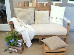 Ghế sofa pallet – nội thất gia đình ấn tượng