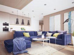 Mùa hè tươi mát với các mẫu ghế sofa màu xanh sang trọng
