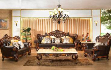 Sofa gỗ cổ điển – Sự lựa chọn cho gia đình!