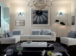 5 màu sofa nỉ phòng khách độc đáo và sang trọng  cho gia đình bạn
