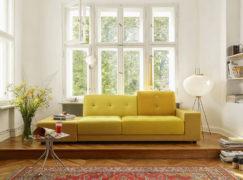 Ghế sofa đôi cho ngôi nhà hiện đại