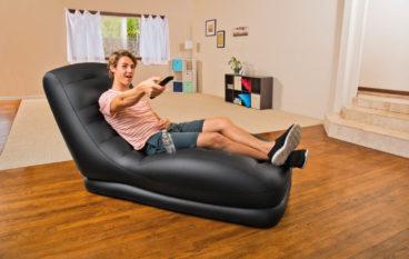 Ghế sofa hơi lựa chọn thông minh cho nhà diện tích nhỏ hẹp