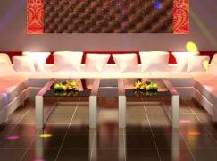 Ghế sofa karaoke tạo nên không gian vui chơi thoải mái