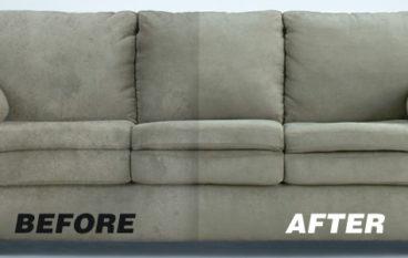 Công thức hô biến ghế sofa cũ sạch như mới