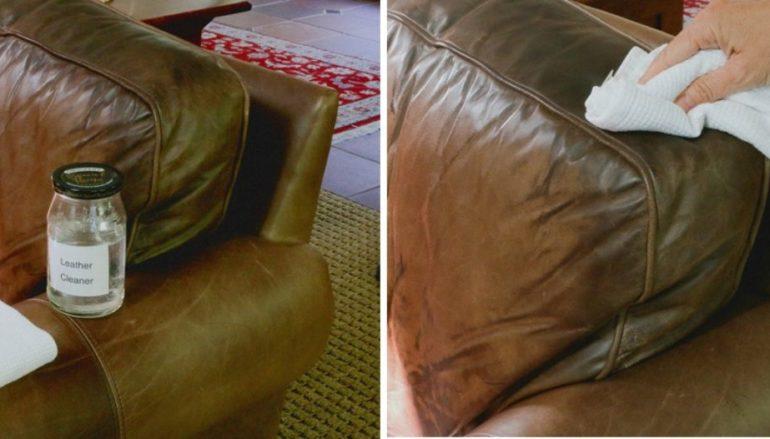 Làm sạch ghế sofa da – Bạn đã biết?