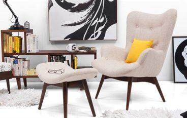 Ghế sofa đơn nhỏ xinh cho căn phòng thêm độc đáo