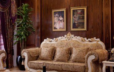 10 mẫu sofa hoàng gia cho phòng khách sang trọng