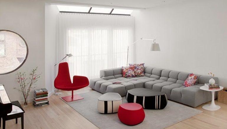 Giường sofa đa năng trong thiết kế không gian nhà nhỏ