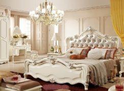 Mê mẩn với những mẫu giường ngủ nhập khẩu phong cách châu Âu sang trọng