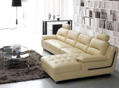 sofa giường ngủ bọc da – Sang trọng, lịch sự từ thiết kế thông minh, tiện ích
