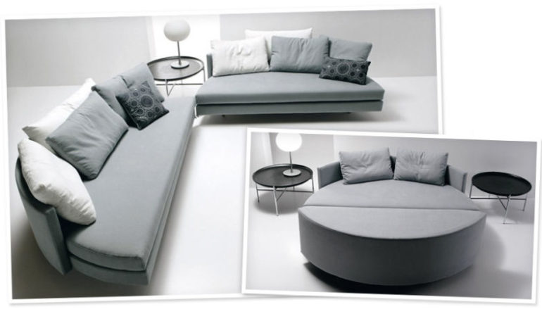 Sofa giường tròn – Phong cách của tôi, chất của bạn