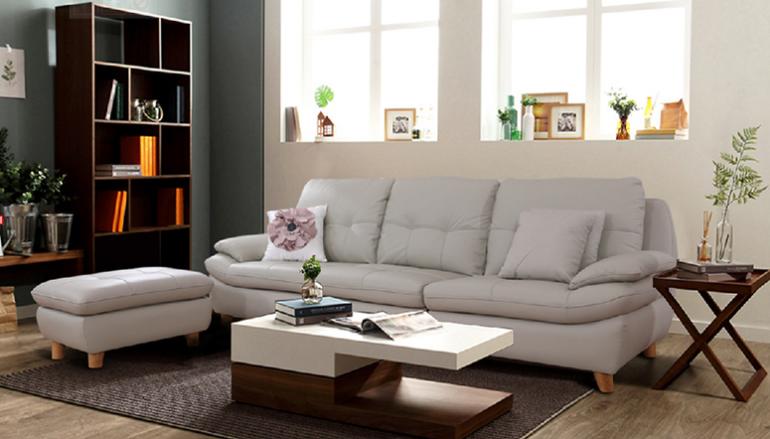 Cách sắp xếp ghế sofa giường cho phòng khách gia đình