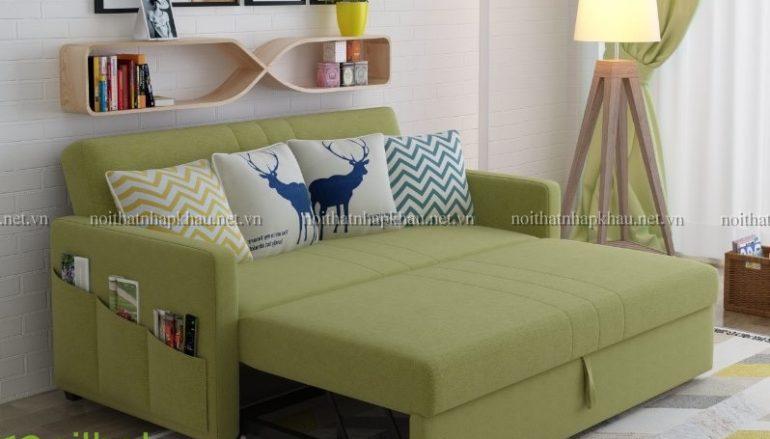 Sofa kiêm giường ngủ nội thất thông minh của mọi gia đình