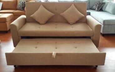 Tiện ích và thoải mái với sofa kiêm giường ngủ