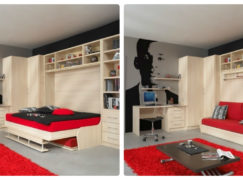 Sofa giường, sofa xếp thành giường, sofa giường âm tường nên chọn loại nào?