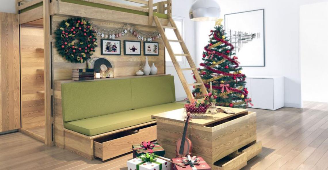 Những mẫu sofa giường tầng độc đáo siêu tiện ích cho cuộc sống